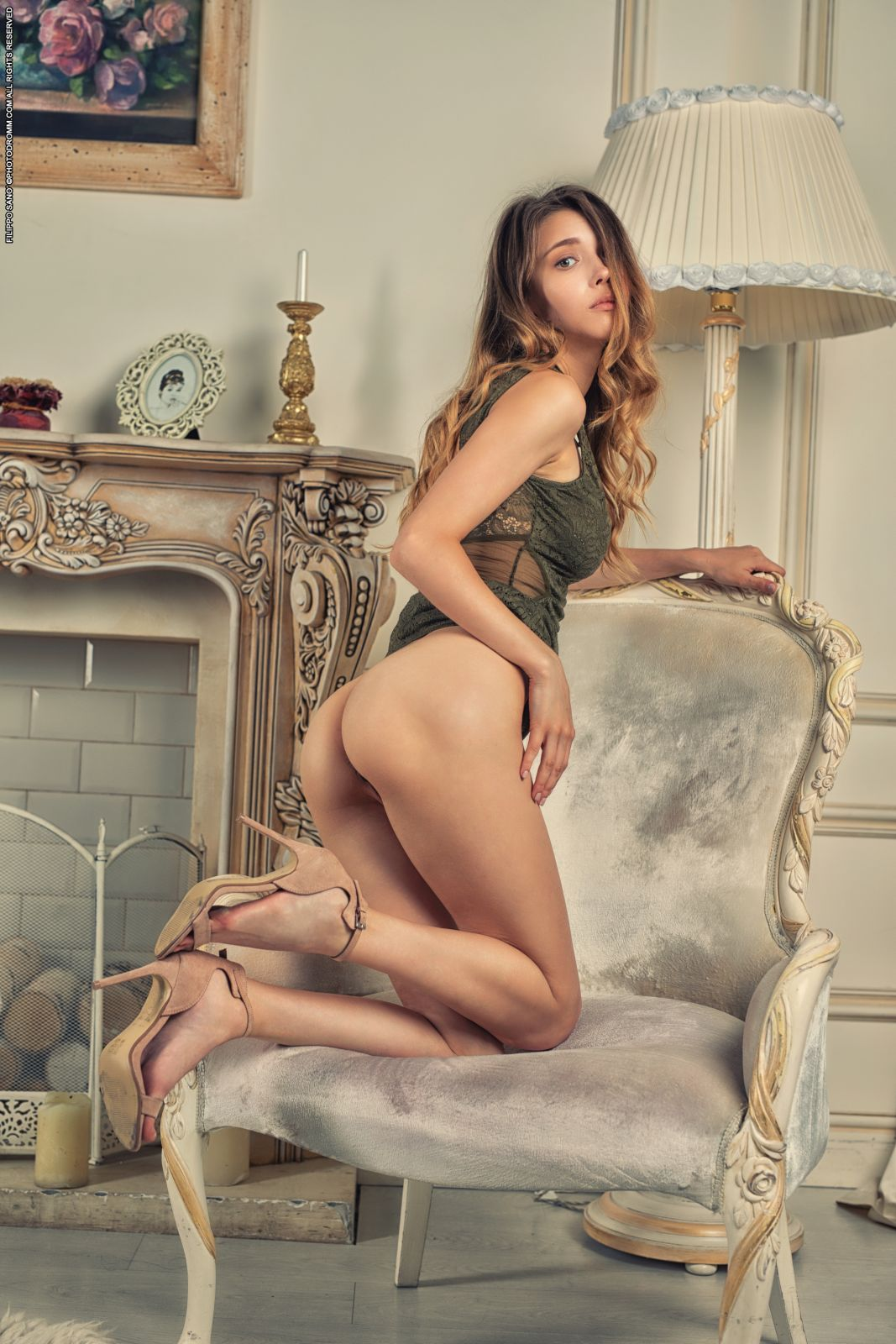 Young busty girl Mila Azul bares it all | Babe Pictures